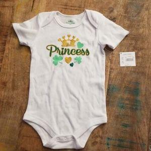 24M ☘ Irish Princess ☘ onesie